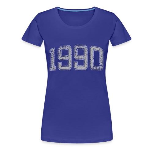 1990 Year Vintage - Women's Premium T-Shirt