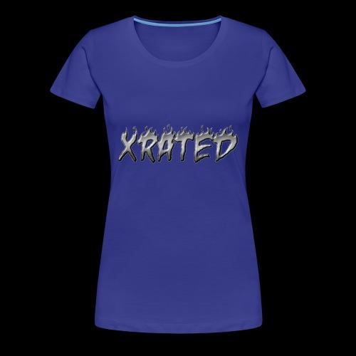 xrated metal - Women's Premium T-Shirt