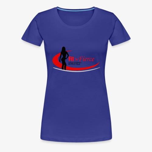 Fit 'n Fierce Athletics full logo - Women's Premium T-Shirt