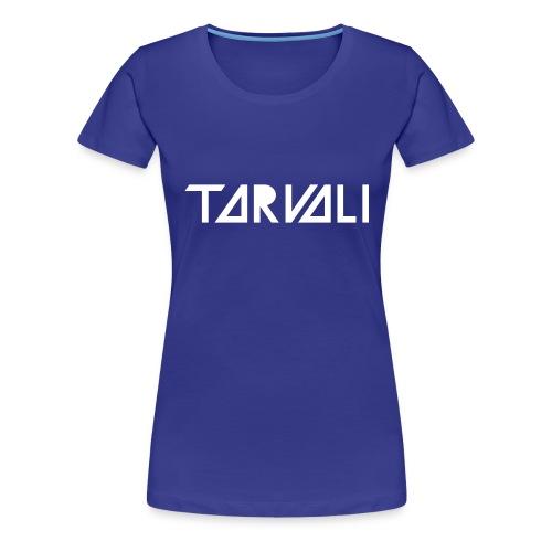 Tarvali White Logo - Women's Premium T-Shirt