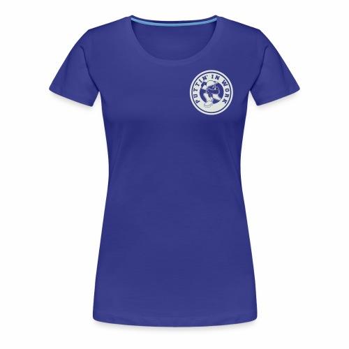 P.I.W White Logo - Women's Premium T-Shirt