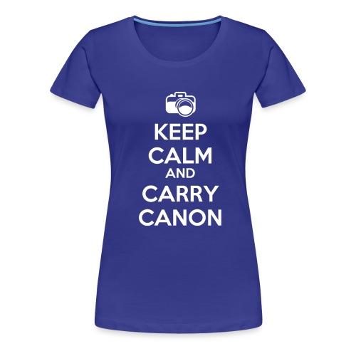 KeepCalmCanon - Women's Premium T-Shirt