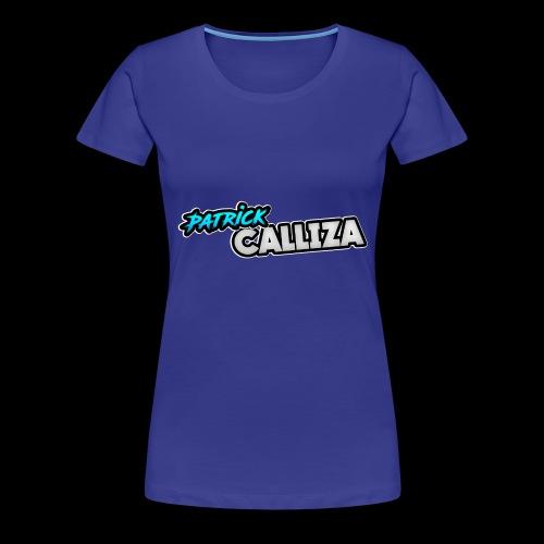 Patrick Calliza Official Logo - Women's Premium T-Shirt