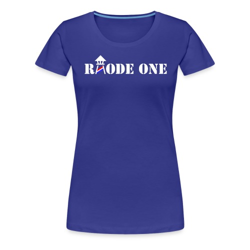 Rhode One logo - Women's Premium T-Shirt