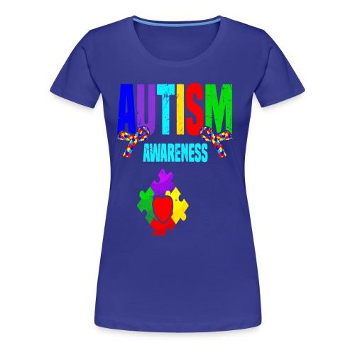 Autism Awareness 2019 Tshirt Autism Puzzle Tee - Women's Premium T-Shirt