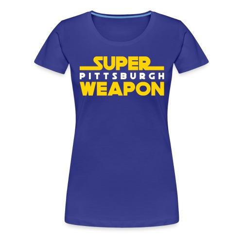 super weap - Women's Premium T-Shirt