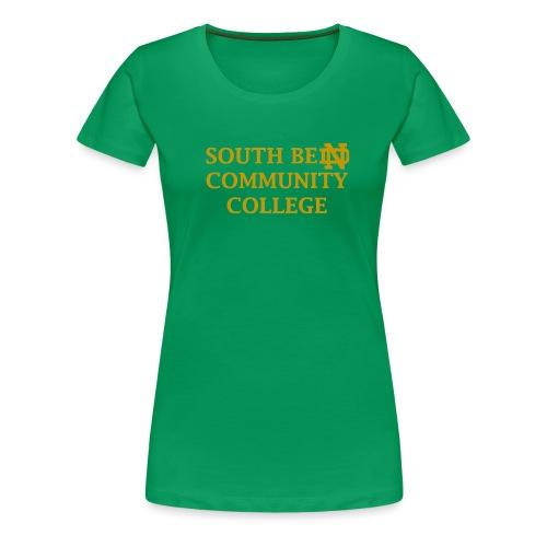 Notre Dame Community College - Women's Premium T-Shirt