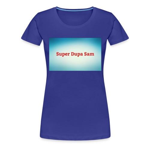 Super Dupa logo - Women's Premium T-Shirt