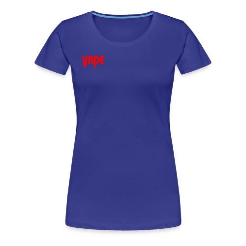 Vape Apparel - Women's Premium T-Shirt
