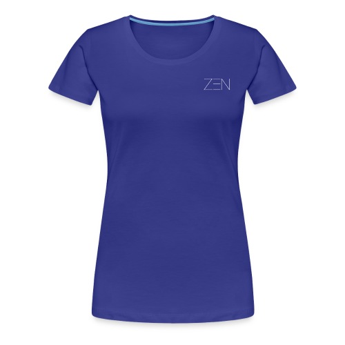 Zen Activewear White - Women's Premium T-Shirt