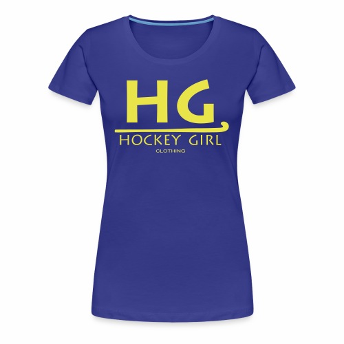 HG logo 3 THIS ONE FINAL - Women's Premium T-Shirt