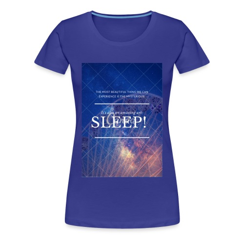 Sleep Galaxy by @lovesaccessories - Women's Premium T-Shirt