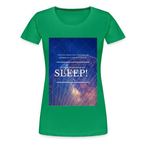 Sleep Galaxy by @lovesaccessories - Women's Premium T-Shirt