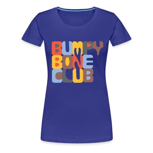 BumpyBoneLogo 1 png - Women's Premium T-Shirt