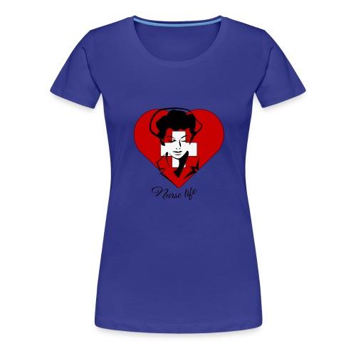 nurselife - Women's Premium T-Shirt
