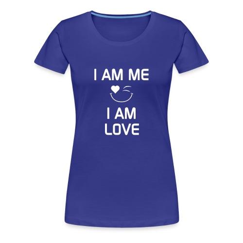 IAmMeIAmLove - Women's Premium T-Shirt