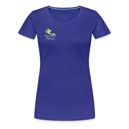 Barefoot Running 1 Women's T-Shirts - Women's Premium T-Shirt