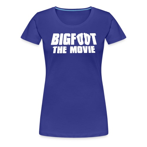 bigfoot the movie - Women's Premium T-Shirt