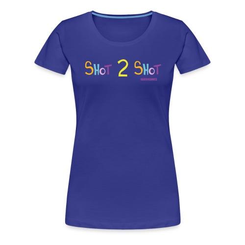 Hard4Games Shot 2 Shot - Women's Premium T-Shirt