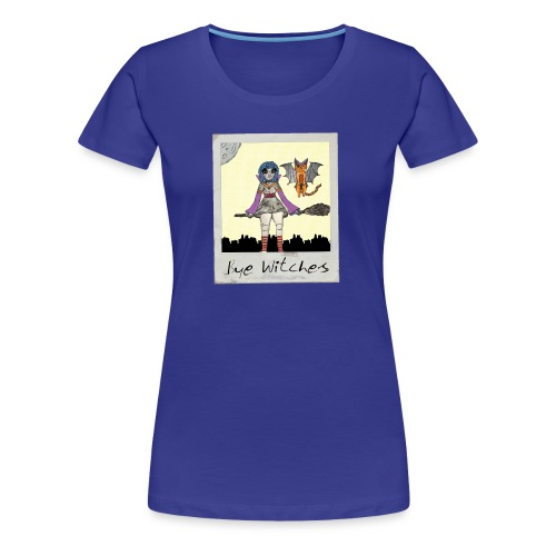 BYE WITCHES! Polariod - Women's Premium T-Shirt