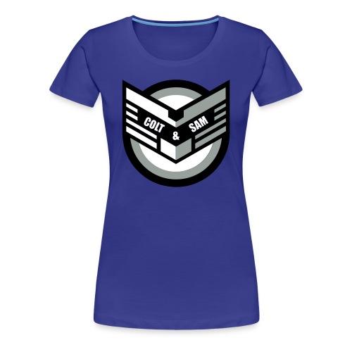 COLT AND SAM LOGO - Women's Premium T-Shirt
