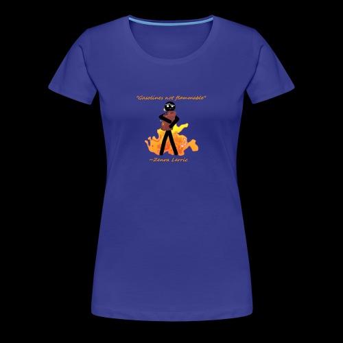 Stupid Zenra Quote - Women's Premium T-Shirt