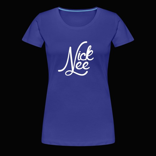 Nick Lee Logo - Women's Premium T-Shirt