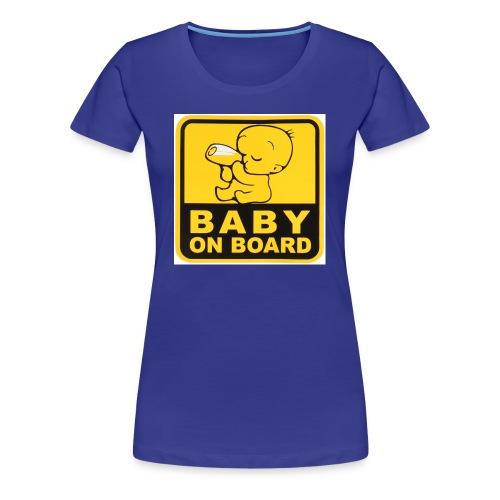 baby inside - Women's Premium T-Shirt