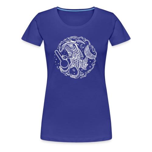 fishy white - Women's Premium T-Shirt
