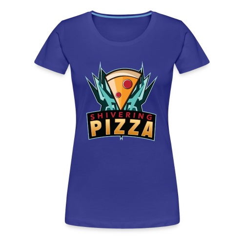 Shiveringpizza Logo - Women's Premium T-Shirt