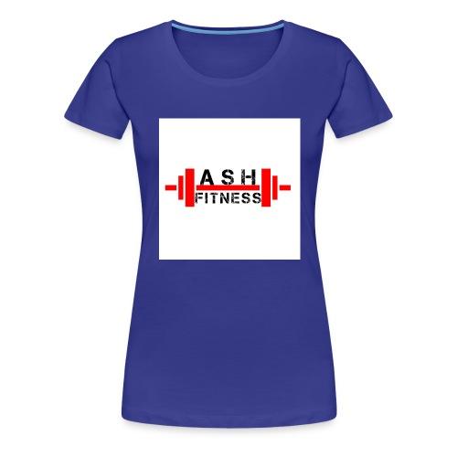 ASH FITNESS MUSCLE ACCESSORIES - Women's Premium T-Shirt