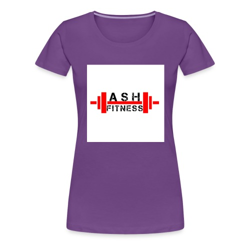 ASH FITNESS MUSCLE ACCESSORIES - Women's Premium T-Shirt