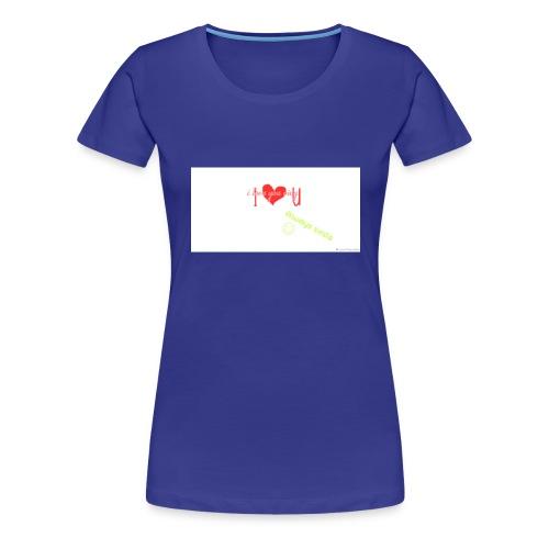 I love my sister merch - Women's Premium T-Shirt