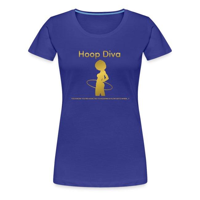 Hoop Diva - Gold