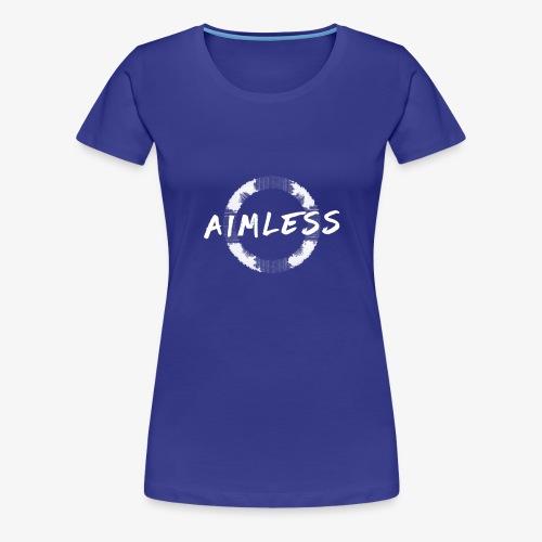 Aimless Clothing Logo - Women's Premium T-Shirt