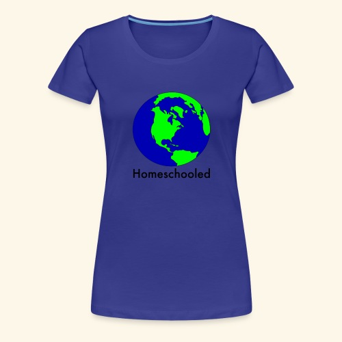 Homeschooled World - Women's Premium T-Shirt
