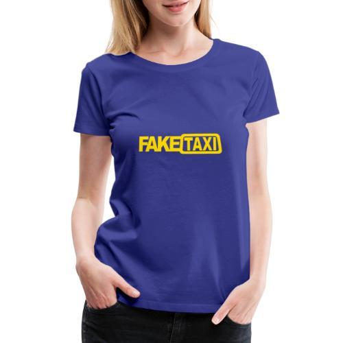 FAKE TAXI Duffle Bag - Women's Premium T-Shirt