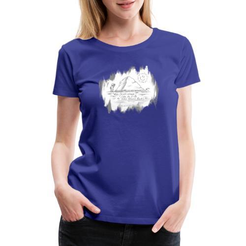 Listen to Classic Rock - Women's Premium T-Shirt