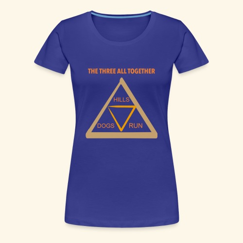 Run4Dogs Triangle - Women's Premium T-Shirt