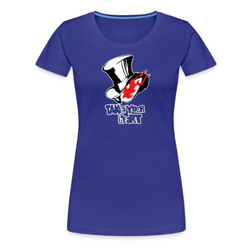 Persona 5 Mask - Women's Premium T-Shirt