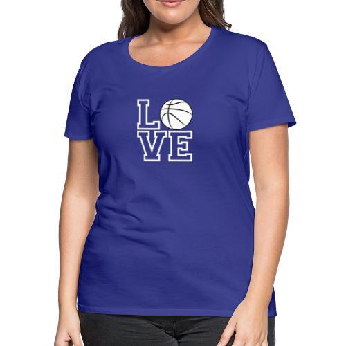 Love & Basketball - Women's Premium T-Shirt
