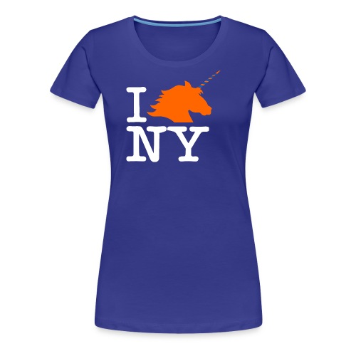 I Unicorn New York (Kristaps Porzingis) - Women's Premium T-Shirt