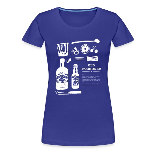 Old Fashioned - Women's Premium T-Shirt