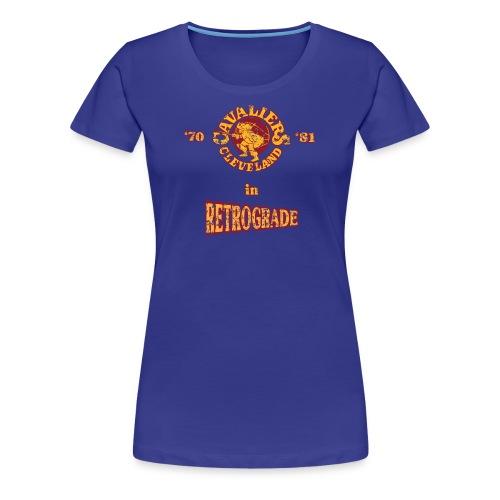 Warriors sending the Cavs back in time . '70/'81 - Women's Premium T-Shirt