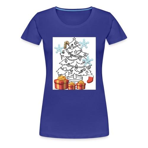 Christmas is here!! - Women's Premium T-Shirt