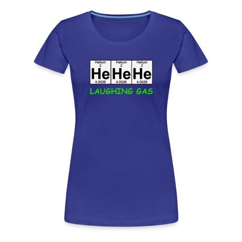Laughing Gas T Shirt - Women's Premium T-Shirt