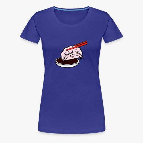 Saucy Shrimp - Women's Premium T-Shirt