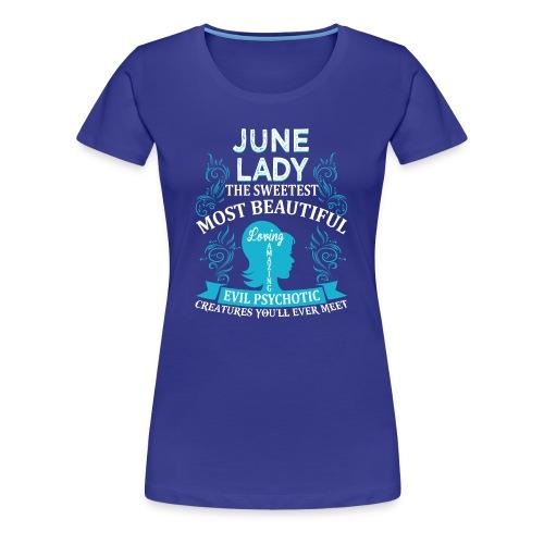 June lady - Women's Premium T-Shirt