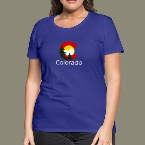 Colorado C Trees - Women's Premium T-Shirt
