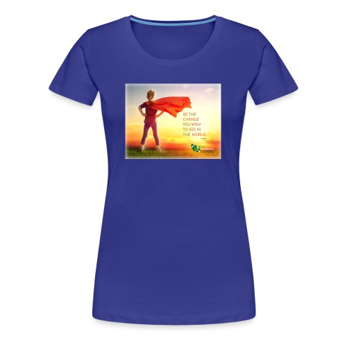 Education Superhero - Women's Premium T-Shirt